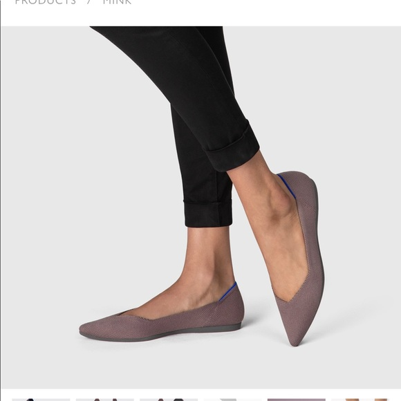 Rothy's Shoes | Rothys Point Mink
